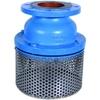 Foot valve fig. 135 cast iron strainer basket flange