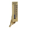 Glass tube thermometer fig. 1651 aluminum insertion angle 135°