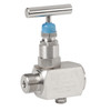 "Needle valve fig. 223 stainless steel with vent screw internal/external thread PN420 1/2"" BSPP"
