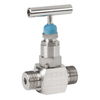Needle valve fig. 229 stainless steel external thread BSP