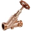 Vrijstroomafsluiter met terugs+B1:C237troom beveiliging fig. KP060 roestvaststaal persmof