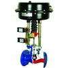 Globe valve fig. 2576 series 12.405 cast iron pneumatic flange
