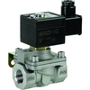 "Solenoid valve 2/2 fig. 32302 series SCB210D189V stainless steel/FKM orifice 25mm 24V AC 1""NPT"