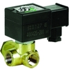 "Magnetventil zwei Wege Fig. 32606 Serie SCB223A103 Messing/PTFE Ventildurchlass 9mm 24V AC 1/2"" NPT"