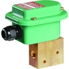 Magneetafsluiter 3/2 fig. 33400EM serie 327 messing explosieveilig binnendraad
