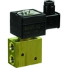 "Magneetafsluiter 3/2 fig. 33400 serie SCG327A607 messing/NBR klepdoorlaat 12mm 24/DC 1/2"" BSPP"