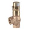 Soupape de sécurité à ressort fig. 512 bronze levée étanche au gaz standard taraudé