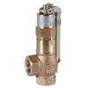 """Spring-loaded safety valve fig. 518 bronze/PTFE lifting lever adjustment range 5,5 - 9,0 barg 1"""" BSPP"""