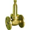Overstortventiel fig. 523 brons/metaal gasdicht overstortdruk 8 - 15 barg PN16 DN15