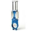 Knife gate valve fig. 5402 cast iron wafer type pneumatic