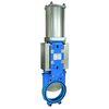 Knife gate valve fig. 5404 cast iron/EPDM pneumatic plate PN6 DN300 flange PN10