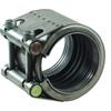 Pijpkoppeling fig. 5517 serie Plast-Grip roestvaststaal/EPDM