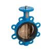 Vlinderklep fig. 6320 nodulair gietijzer/aluminiumbrons semi-monoflens