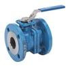 Ball valve fig. 72491 steel/TFM1600/Kalrez lever PN40 DN15