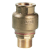 Check valve fig. 728 brass internal/external thread