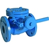 Check valve fig. 84 cast iron contra weight flange