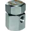 """Thermodynamische condenspot fig. 1041 serie TD259 roestvaststaal maximum drukverschil 42 bar standaard capaciteit PN63 1/4"""" BSPP"""