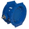 Butterfly valve fig. 21170 ductile iron KIWA double-eccentric long face to face length flanged