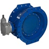 Butterfly valve fig. 21177 ductile iron KIWA double-eccentric gearbox flanged