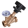 Regulating valve fig. 2429KB bronze external thread