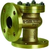 Check valve fig. 497 bronze angled flange