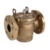 Groffilter fig. 5187 Rg5 brons flens