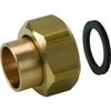 Systeemkoppeling fig. 3332KA brons voor KIWA inregelafsluiter