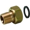 Systeemkoppeling fig. 3332KC brons voor KIWA inregelafsluiter wartel/buitendraad