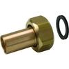Systeemkoppeling fig. 3332KD brons voor KIWA inregelafsluiter wartel/soldeer