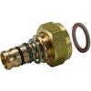 Systeemkoppeling fig. 3332KJ brons voor KIWA inregelafsluiter wartel/perskoppeling Geberit Mepla