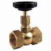 Needle valve Fig 1817 brass PN100 1/8""