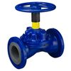 Diaphragm valve fig. 3026 series A cast iron without lining flange