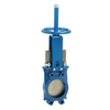 Knifegate valve fig. 5408 cast iron wafer type hand wheel