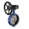 Butterfly valve fig. 718WK cast iron nudular/stainless steel wafer type