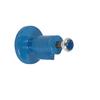 Aftapafsluiter fig. 574 staal/roestvaststaal zelfsluitend drukknop PN4 DN20 ongeboord