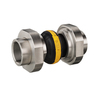 Compensator 46 yellow/PA casted iron female threaded DN20