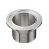 Aseptic clamp/ Tri-clamp liner DIN 11864-3 BKF, Form A; pipe size according to ASME BPE/ Imperial