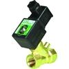"""Magnetventil 2/2 Fig. 32604 Serie SCE222A076 Messing/PTFE Ventildurchlass 9.5mm 24V AC 1/2""""BSPP"""