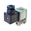 """Magneetventiel 3/2 fig. 33003 serie SCG356B014VMS roestvaststaal/FPM klepdoorlaat 1,6mm 24V AC 1/8""""BSPP"""