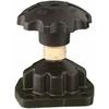 Gezekerde afsluiterkap fig. 3052 serie A voor rubber membraan