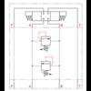 Pressure relief valve A-B/B-A