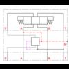 Stalen huis voor inschroefpatronen NG6 DMVZ-06S-A-00-0/00