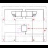Stalen huis voor inschroefpatronen NG6 DMVZ-06S-B-00-0/00