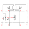 2-weg drukcompensator met vaste instelling type PCM3