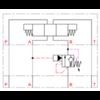 CETOP balanceerventiel in B serie BXP