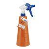 Huishoudverstuiver-750 ml-PE oranje kunststof verstuiverkop