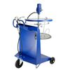 Grease lubrication system, mobile