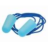 Metaaldetecteerbare standaardoordoppen van PU-schuim met koord