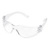 Veiligheidsbril met nagenoeg onbreekbare glazen