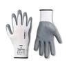 Handschoen Secure Grip wit/grijs